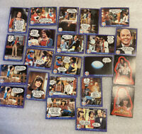 Vintage 1978 Mork and Mindy Trading Card Lot of 20 Cards & 2 Stickers