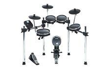 Alesis Surge Mesh Kit 8-teiliges E-Drum Kit mit Mesh Heads, Chrom Rack & 40 Kits
