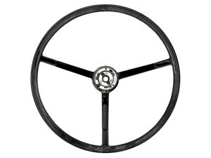 New 1963-64 Galaxie Steering Wheel 16in Ribbed Black Country Squire 500 XL Ford