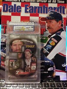 2001 Amazing Mint Colorized quarter- Dale Earnhardt 1987 #3 US NC&  memorial mag