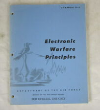 Usaf Air Force Electronic Warfare Principles 1963