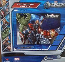 """Marvel Avengers Lenticular Puzzle - 100 Pieces - 12"""" x 9"""" - BRAND NEW SEALED"""