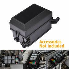 12 Slot Automotive Relay Fuse Block Holder Box Socket Set for Car ATV UTV Truck