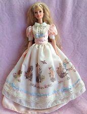 Beatrix Potter Barbie doll 1997 collector edition Peter Rabbit