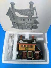 Department 56 New England Christmas Village Sleepy Hollow Ichabod Cranes Cottage