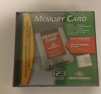 NEW 256K PERFORMANCE MEMORY CARD FOR NINTENDO 64 N64 WITH STORAGE CASE  #03028