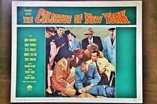 THE COLOSSUS OF NEW YORK Orig SCI-FI HORROR Lobby Card OTTO KRUGER MALA POWERS