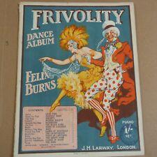 FRIVOLITY DANCE ALBUM Felix Burns