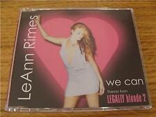 CD Single: LeAnn Rimes : We Can : Theme From Legally Blonde 2