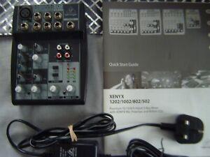 Behringer 502 mixer