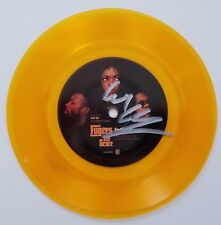 "Wyclef Jean Signed Fugees The Score 7"" Vinyl Record 45 Fu-Gee-La Gold Colored"