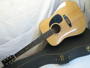 Vintage Sigma by Martin DM-5 Acoustic Guitar Made in Japan with Case DM5