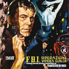 FBI OPERAZIONE VIPERA GIALLA - COMPLETE SCORE - LIMITED 500 - FRANCESCO DE MASI