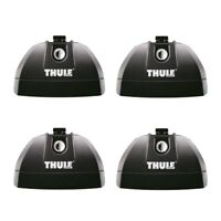 THULE 753 FOOT PACK SET ONLY Rapid Fit Cars with Flushrail or Fixpoint Roof Bars