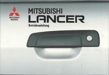 MITSUBISHI  LANCER  5  Betriebsanleitung 1995  Bedienungsanleitung Bordbuch BA