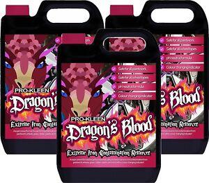 Pro-Kleen Dragons Blood Iron Contamination Remover Alloy Wheel 3 x 5L