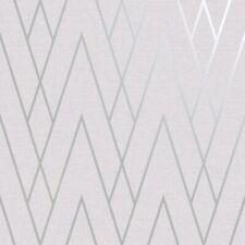Duo Chevron DCO Exclusive Wallpaper Grey