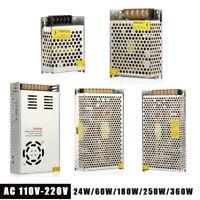 AC 110V-220V TO DC 24V 5V 12V Switch Power Supply Driver Adapter LED Strip Light