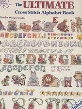 The Ultimate Cross Stitch Alphabet Book by American School of Needlework ASN3600