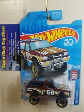 Hot Wheels 2018 HW SPORTS Kmart Excl. Chevy Blazer 4X4 Burgundy 6/10 B27