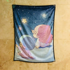 little twin stars couple coral fuzzy Blankets anime quilt rug small blankets new