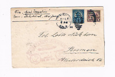 First Flight Airmail Lakehurst-Friedrichshafen Graf Zeppelin flight cover 1928