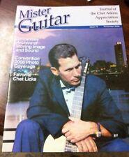 Mister Guitar, Issue 70, Nov 2008, Journal Of Chet Atkins Appreciation Society