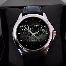 New Jeep Adventure Logo Sport Metal Leather Watch For men or women for Gift