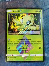 Celebi Prism Star 19/214 Lost Thunder - Pokemon Card NM Holo Rare