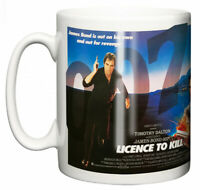 Dirty Fingers Mug, Timothy Dalton James Bond Licence To Kill, Film Movie Poster