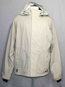 Oakley Tan Ski Snowboarding Jacket Men's Size Large Removeable Hood
