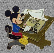 It all started with Walt Jumbo Pin - Mickey drawing Walt -  LE 500