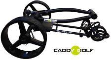 Caddy-golf concede Elektro trolley negro mate Timer Memory 350w motor
