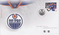 CANADA #2672 63¢ NHL TEAM JERSEYS - EDMONTON OILERS FIRST DAY COVER
