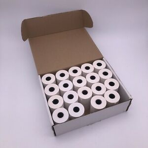 19 Rolls Ingenico Thermal Paper for Credit Card Machines Till Rolls 57x40mm