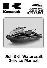 Kawasaki jet ski service workshop manual 2007, 2008, 2009 & 2010 ULTRA 260LX