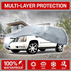 Van & SUV Car Cover for Chevrolet Suburban Motor Trend UV Dirt Scratch Resistant