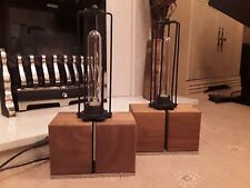 Habitat Upcycled Industrial Style Table/Desk Lamps x 2