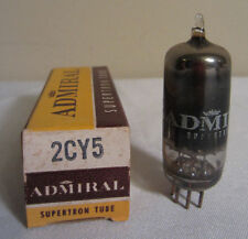 Admiral 2CY5 Supertron Electronic Tube In Box