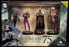 2015 DC COMICS BATMAN 75TH ANNIVERSARY EAGLEMOSS MASTERPIECE COLLECTION MIB