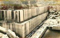 Carthage Marble Corporation Missouri 1940s RPPC Photo Postcard mining 12855