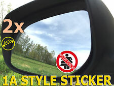 No FAT CHICKS Adesivo Auto Tuning Sticker Shocker Fun gag Dubs-ti d38