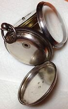 "RARE STERLING SILVER J.G. GRAVES SHEFFIELD SWG OUT POCKET WATCH "" EXPRESS """