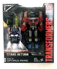 NEW  Transformers Titans Return Voyager class OPTIMUS PRIME Figure In Stock