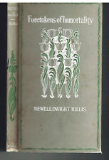 Foretokens of Immortality by Newell Hillis 1st Ed.1897 SIGNED Antique Book!