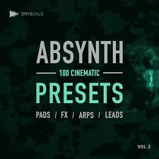 ABSYNTH PRESETS VOL.2 - 100 Cinematic Presets - Native Instruments [E-DELIVERY]