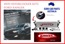 PWR INTERCOOLER KIT. FORD PX RANGER 3.2L DIESEL . PWI53860K POLISHED ALLOY