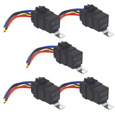 40Amp Waterproof IP67 5-pin Relay Switch with Harness Set (5-Pack)