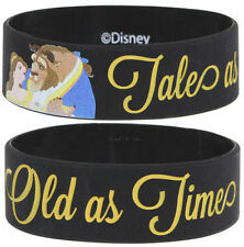 NEW Disney Princess Belle Beauty and The Beast Tales Old As Time Rubber Bracelet