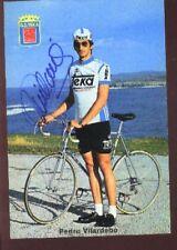 PEDRO VILARDEBO cyclisme Signée TEKA Autographe cycling ciclismo radsport TEAM